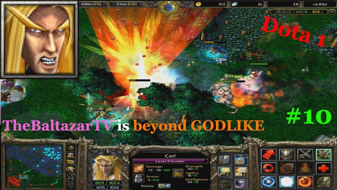 Invoker beyond GODLIKE - The Best KILL in Dota 1 HISTORY ...