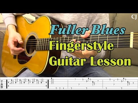 Fuller Blues - Merle Travis (With Tab) - Watch and Learn Fingerstyle Guitar Lesson - Camilo James