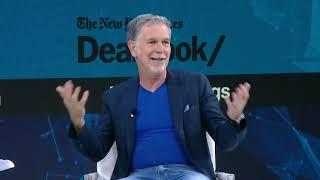Netflix CEO Reed Hastings Talks Streaming Wars, Apple TV+, Disney + and more   DealBook