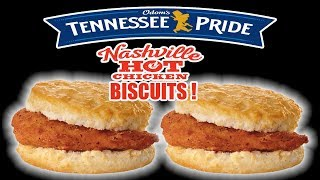 Tennessee Pride Nashville HOT Chicken Biscuits - WHAT ARE WE EATING?? - The Wolfe Pit