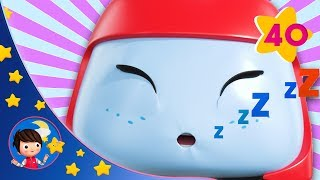 Buster And The Sleepy Train | Kids songs | Nursery Rhymes | GoBuster | Sleep Baby Songs