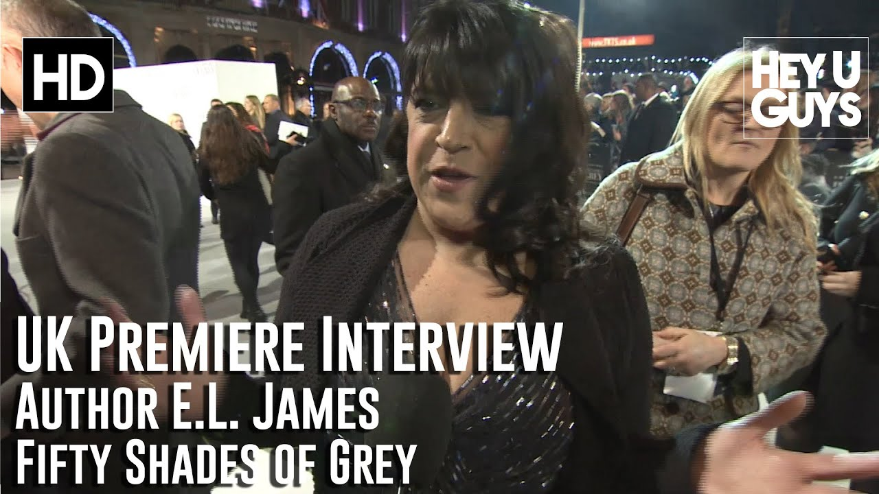 Author E L James Interview Fifty Shades Of Grey Uk