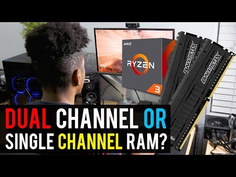 Ryzen Budget Builds: DUAL CHANNEL or SINGLE CHANNEL RAM?