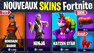 "The skin ""RENEGADE RAIDER"" is from RETOUR in the Royal Fortnite battle BOUTIQUE"