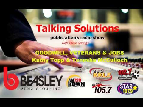 Talking Solutions with Goodwill, on Veterans & Jobs