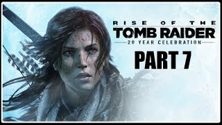JUMPSCARE NA FETU - Rise of the Tomb Raider PART 7 / 1080p 60fps /
