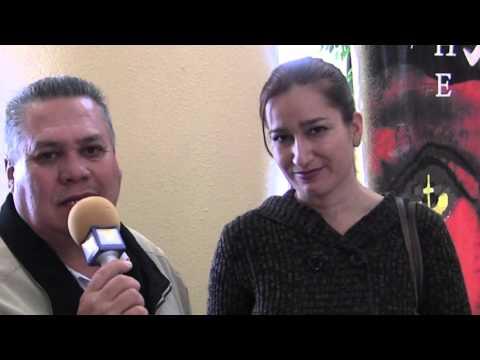 Entrevista a LuzDary, en la Premier de la Pelicula ESTIGMATA Pizarrones Humanos 2015