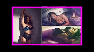 Megan fox sizzles as she poses in y bra, knickers and stockings for lingerie campaign |UK News TV