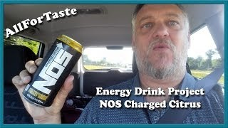 Energy Drink Project - NOS Charged Citrus(Black Label)
