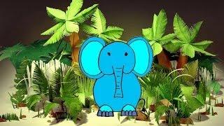 Как нарисовать Слона для детей 4-5 лет Давай нарисуем(Уроки рисования для детей 4-5 лет. Давай нарисуем вместе. Рисовалки для малышей. На этом занятии КАК НАРИСОВА..., 2014-06-08T15:51:04.000Z)
