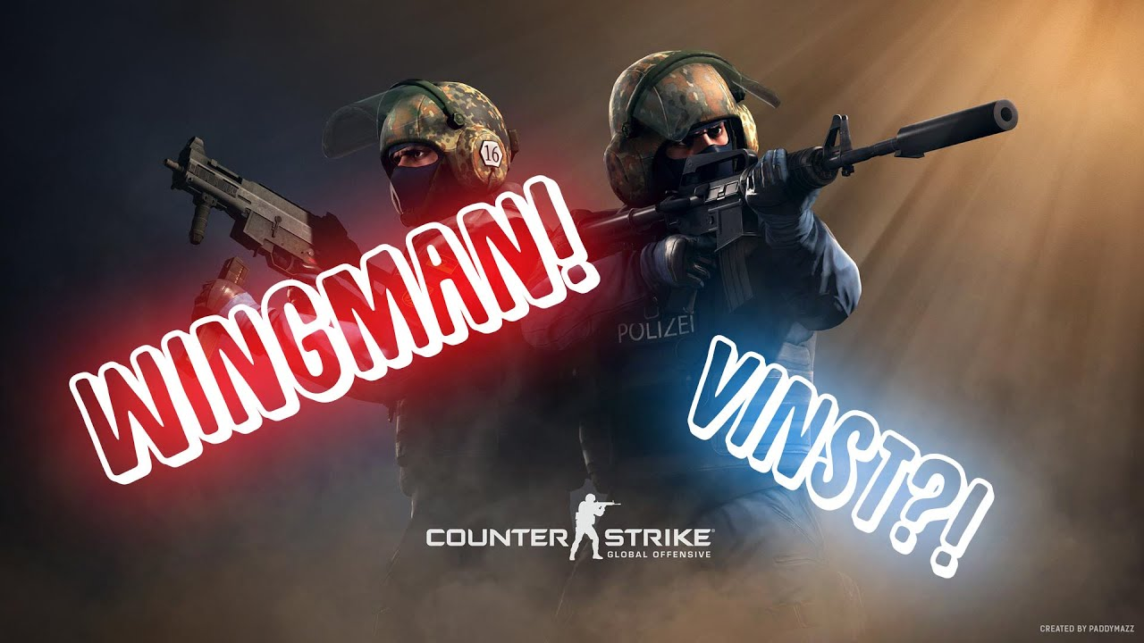 Counter Strike Global Offensive - Wingman (På Svenska)