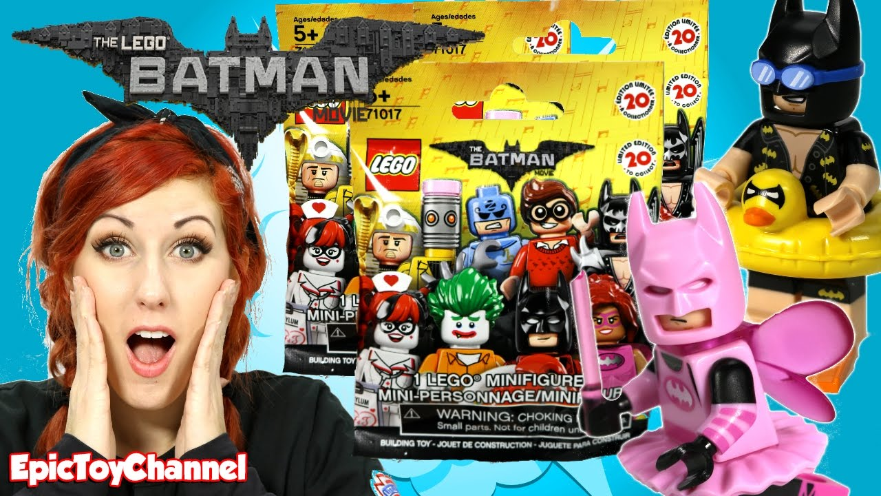 LEGO BATMAN MOVIE SURPRISE with Pink Batman, Harley Quinn ...