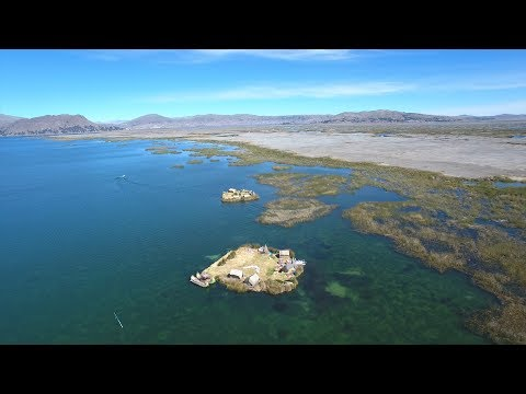 Crazy Floating Islands on Lake Titicaca  |  Peru Travel Vlog