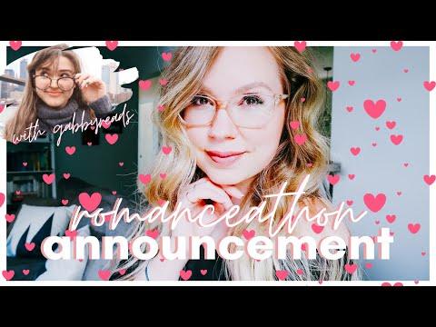 ♥ ROMANCEATHON 2020 Announcement! [romance Readathon With Gabbyreads] ♥