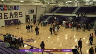 BSDN Live - Blair vs Columbus - Boys Basketball - 2018/19