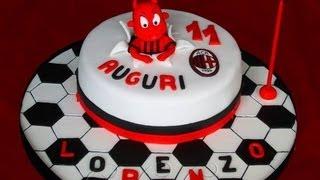 Torta Di Compleanno Milan ,ac Milan's Birthday Cake