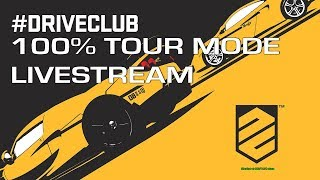 DriveClub - 100% Tour Mode Livestream (Starting at 563/1134 stars) - Na żywo