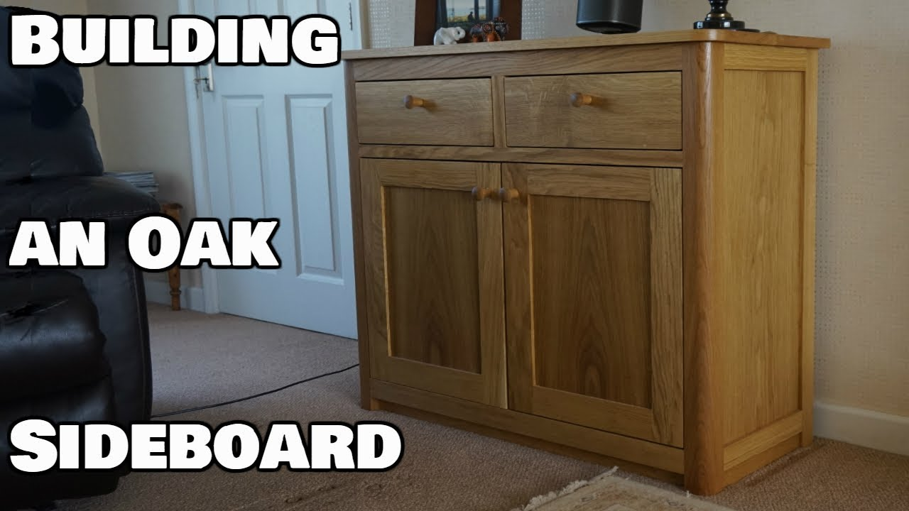 How To Make An Oak Sideboard