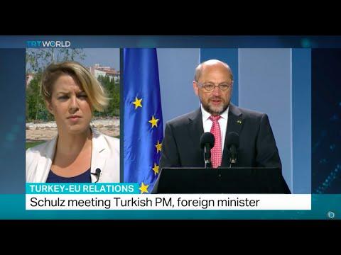 Turkey-EU Relations: European Parliament president hosted in Ankara