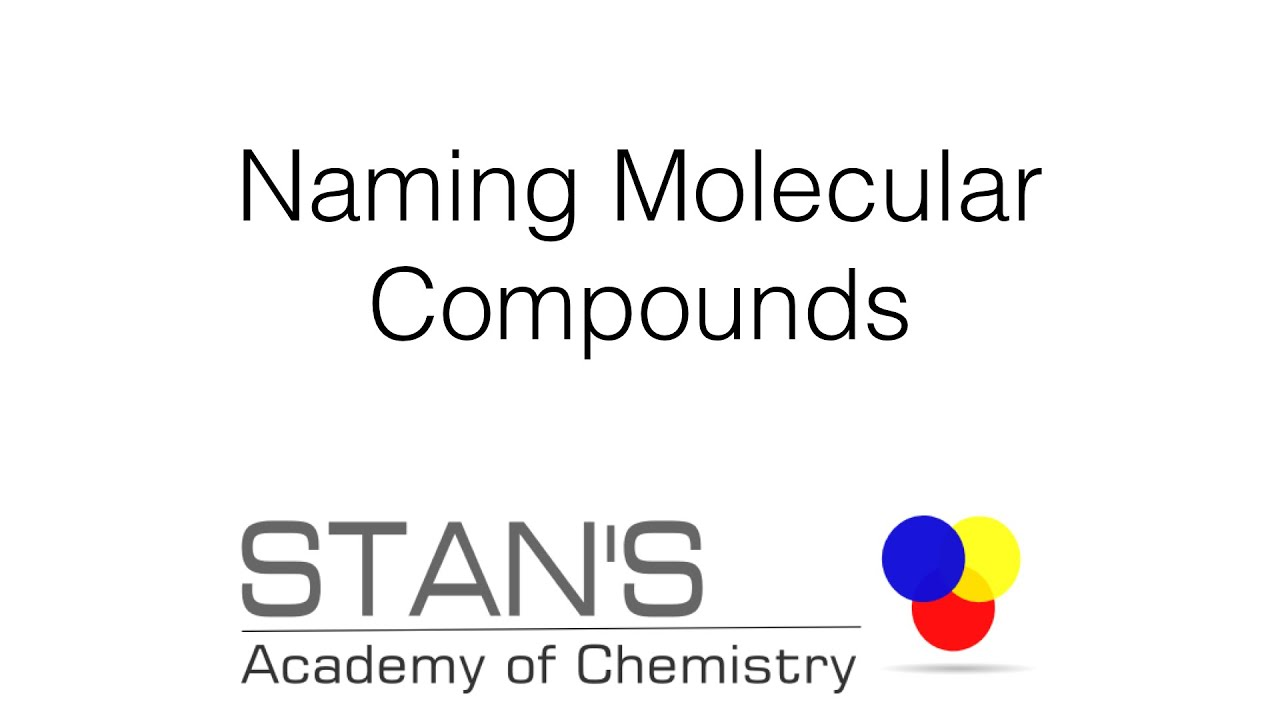 Naming Simple Molecular Compounds Covalent Compounds Rules
