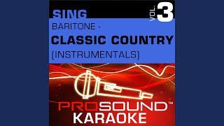 Luckenbach Texas (Karaoke Instrumental Track) (In the Style of Waylon Jennings)