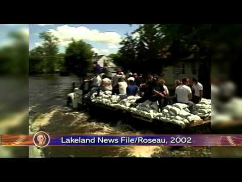 Roseau Flood Risk Management Project - Lakeland News at Ten - April 22, 2014
