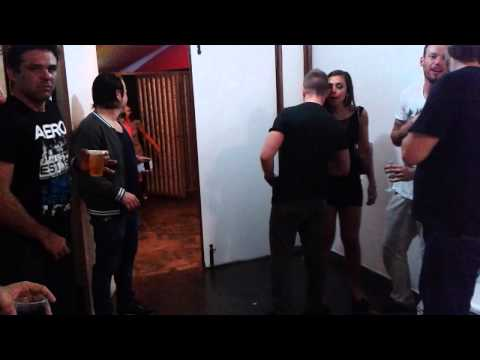 Backstage with EDX and Abel Ramos  @ Federal Music 2013