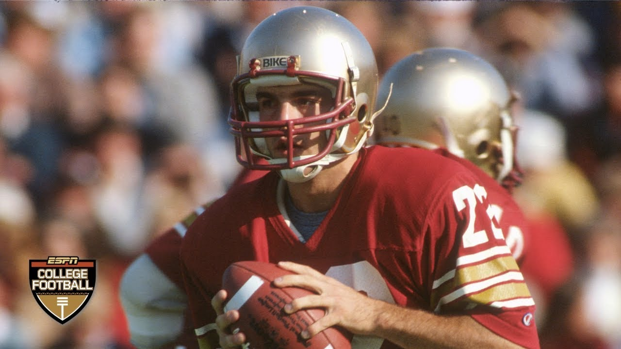 new style c694d 88ca3 The story behind Doug Flutie's Hail Mary in Boston College's win vs. Miami  | ESPN Archives