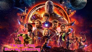 Target vlog Avengers Infinity War Blu-ray unboxing