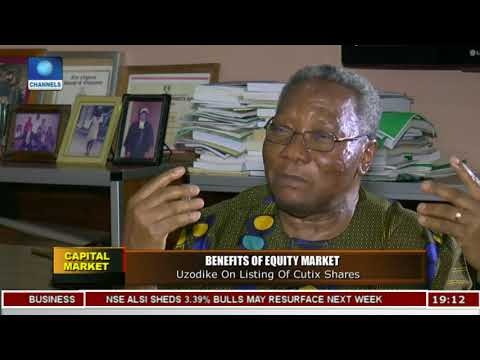 Why I Listed Cutix On Nigeria Stock Exchange - Engr Ajulu Uzodike |Capital Market|