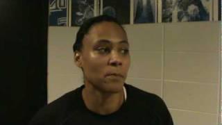 Marion Jones (Tulsa Shock) interview