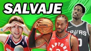 SALVAJADAS EN LA NBA. ¿QUÉ ESTÁ PASANDO?