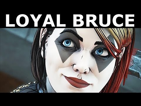 Loyal Bruce As Harley Quinn's Puppet - BATMAN Season 2 The Enemy Within Episode 2: The Pact