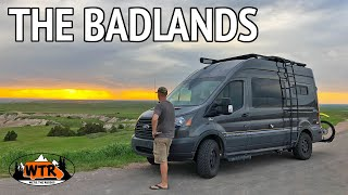 Epic Road Trip to the Badlands and Black Hills | Van Life S2:E13