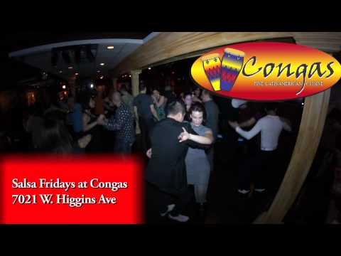 Congas Restaurant Salsa Fridays