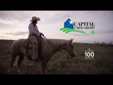 Capital Farm Credit. Financing Texas for 100 years.