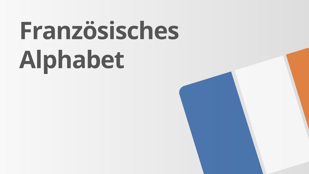 Les lettres de l\'alphabet   Französisch   Grammatik - YouTube
