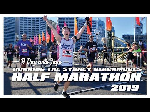 Running The Sydney Blackmores Half Marathon For The First Time | Beginner Runner Vlog