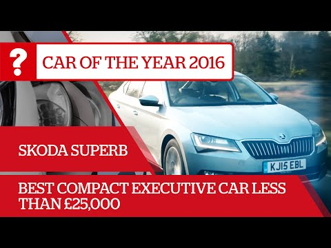 Skoda Superb - 2016 What Car? Best compact executive car less than £25,000
