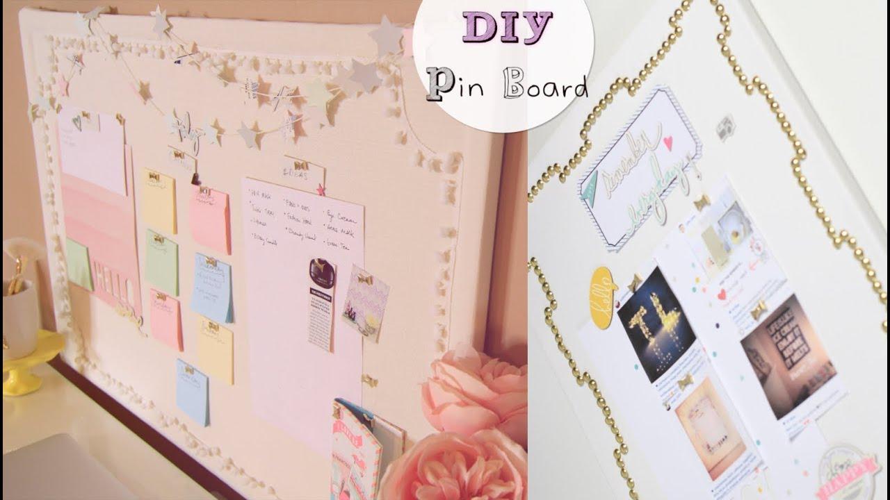 Diy Pin Boards Amp Star Garland Youtube
