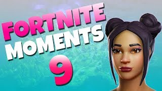 Fortnite Daily Funny and WTF Moments Ep. 9