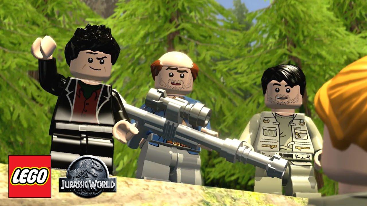 lego jurassic world how to get to isla sorna