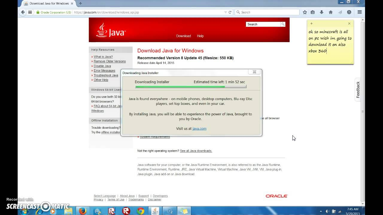 how to download java on pc