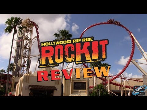 Hollywood Rip Ride Rockit Review Universal Studios Florida