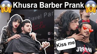 Transgender Barber Prank in Pakistan | Khusra