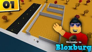 BUILDING My REAL LIFE House in Welcome to BloxBurg! - #1 | Roblox