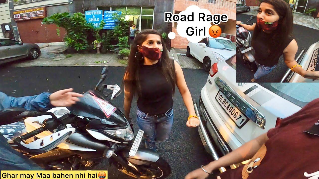Road Rage Angry Girl🤬 Sardar Ji ki Power😱