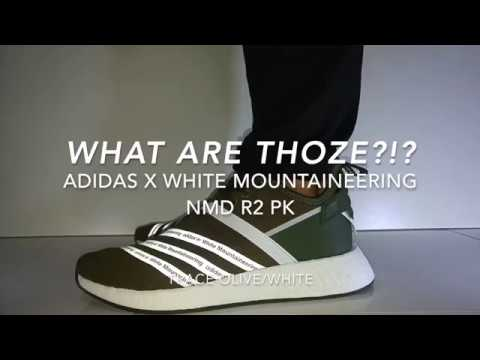 506d7081f What are Thoze !  - Adidas x White Mountaineering NMD R2 PK (Trace ...