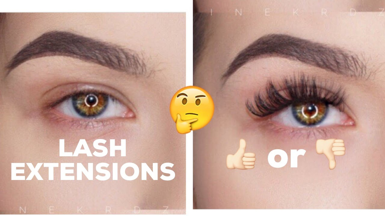 EYELASH EXTENSIONS: The good, bad, and UGLY!! | KatEyedTv - YouTube