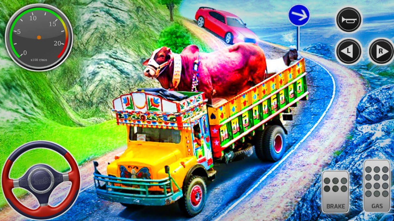 Pet Animal Transport Truck Real Driving 3D Simulator _ Real tractor farming Games _ ios Android